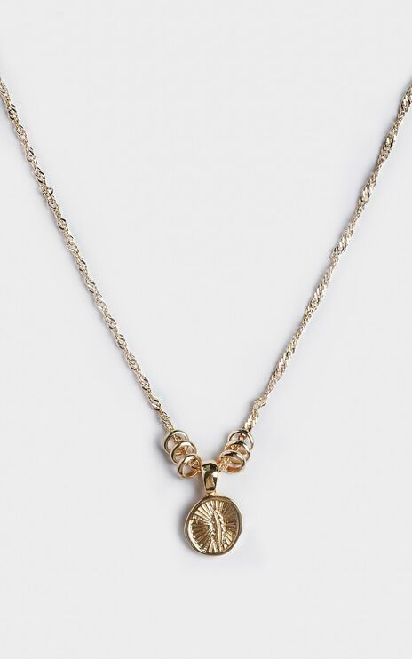 Minc Collections - Maui Pendant Necklace in Gold