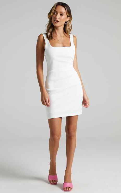 Big Love Dress in White