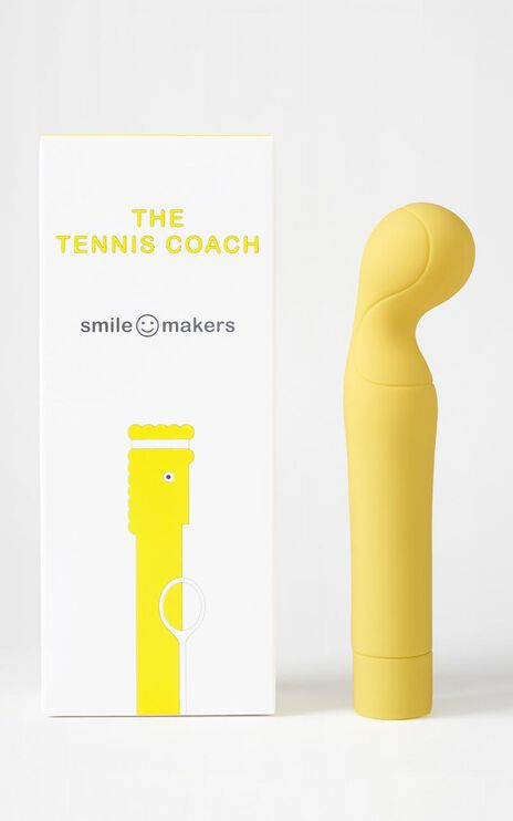 Smile Makers - The Tennis Coach in Yellow