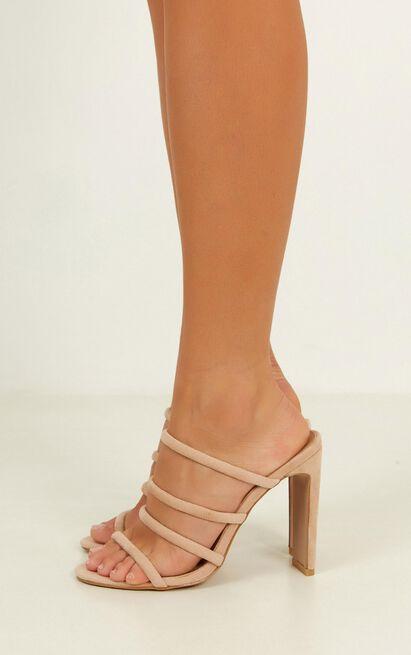Billini - Daciana heels in blush micro - 8, Blush, hi-res image number null