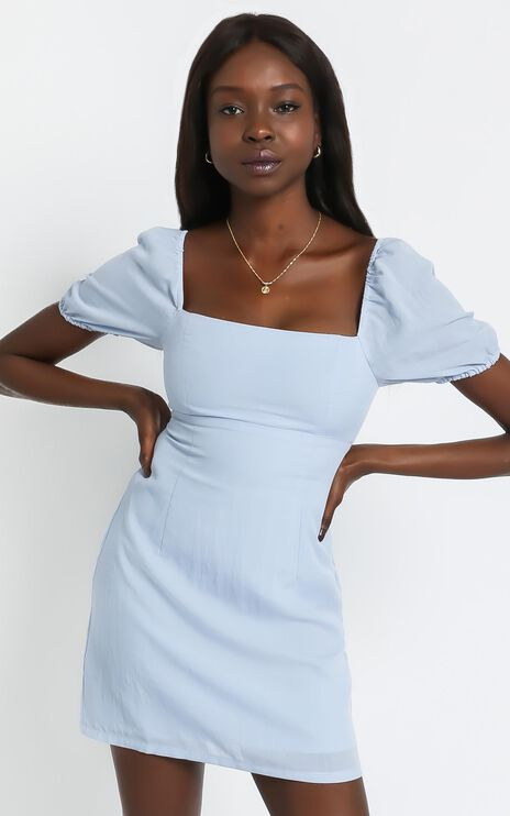 Melody Dress in Blue