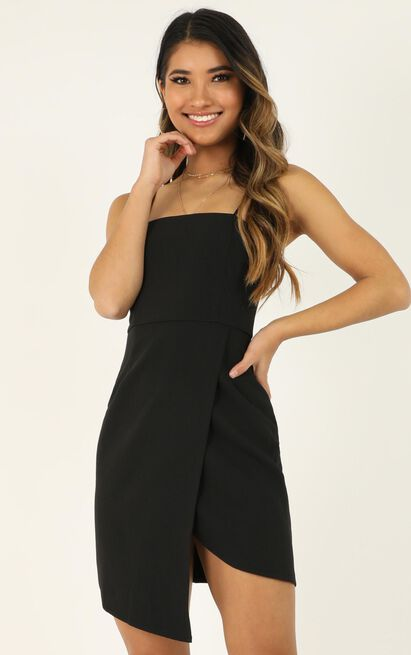 Waiting For A Miracle Dress in black - 20 (XXXXL), Black, hi-res image number null