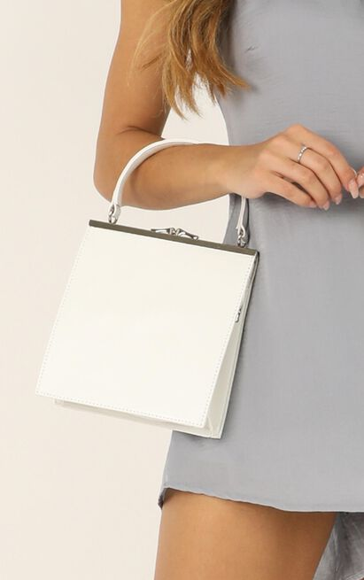 Whenever You Call Bag In White, , hi-res image number null
