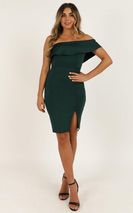 Seven Seas Dress In Emerald