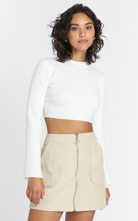 Marling Skirt in Beige