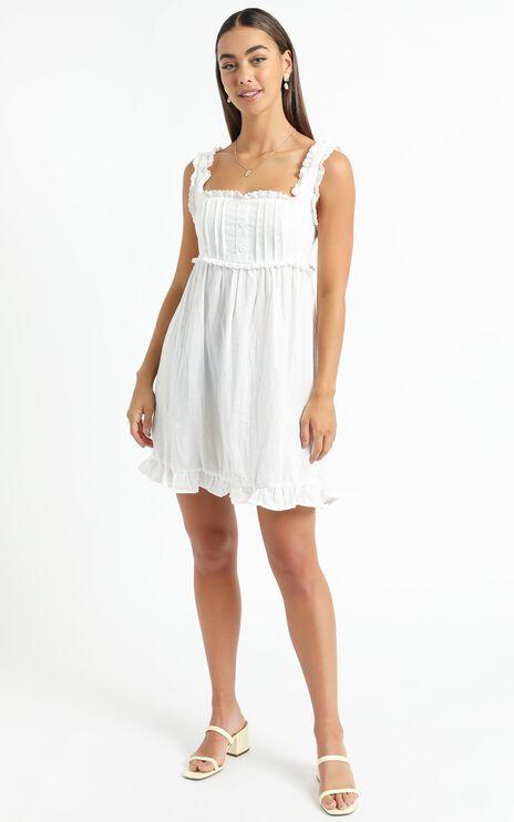 Danica Dress in White