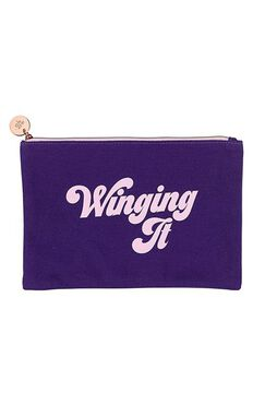 YES Studio: Make up Pouch - Winging It