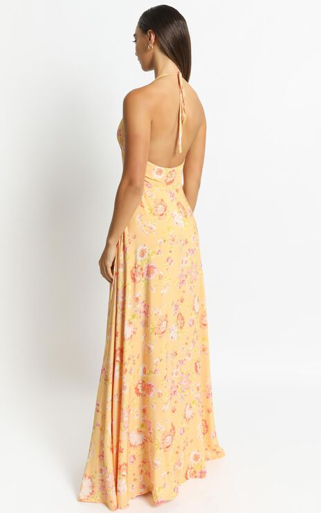 Bria Dress in Tuscan Spring