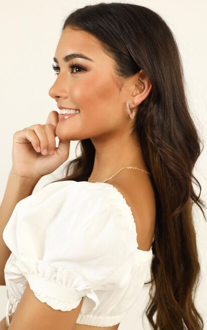 Keep It Cool Earrings In Blush, , hi-res image number null