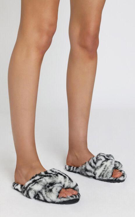 EMU Australia - Mayberry Animal Slippers in Black