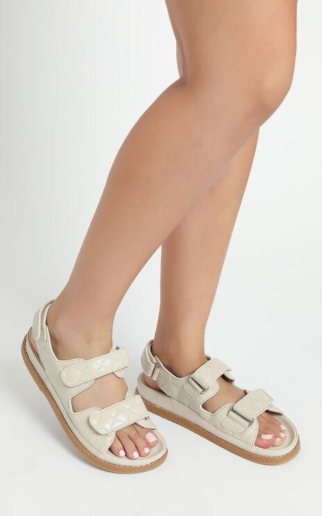 Tony Bianco - Hiranni Sandals in Vanilla Sheep Nappa