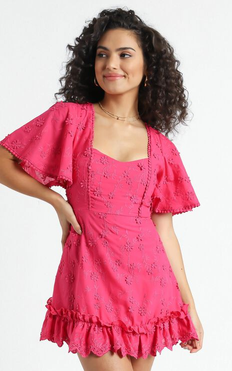 Fancy A Spritz Dress in Hot Pink