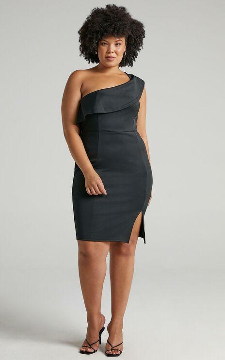 Seven Seas Dress In Black