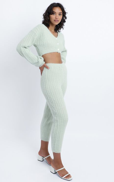 Eevi Two Piece Set in Mint