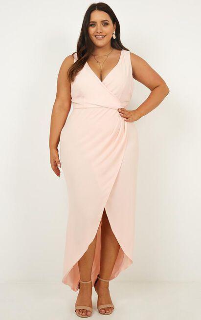 So Romantic Dress in blush - 20 (XXXXL), Blush, hi-res image number null