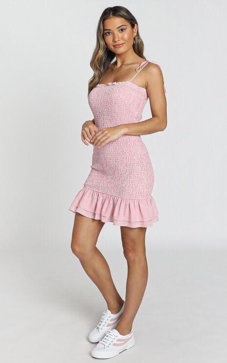 Diaz Dress in Pink