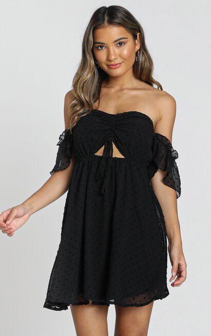 Nevis Dress in black - 8 (S), Black, hi-res image number null