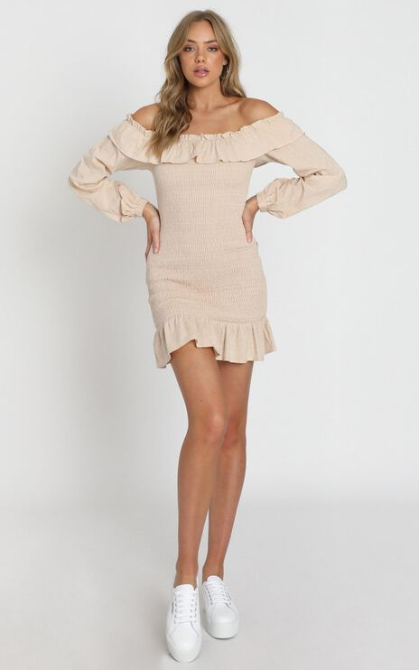 Caillou Dress in Taupe