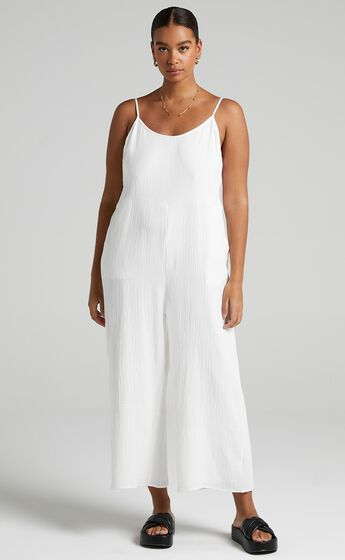 Perfect Day Jumpsuit in White