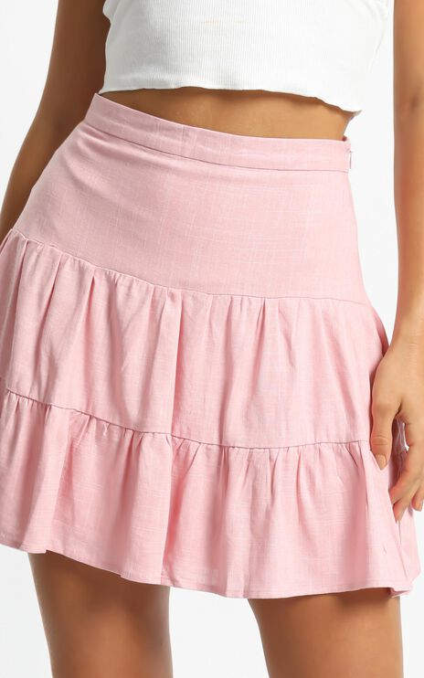 Summer Ready Skirt in Blush