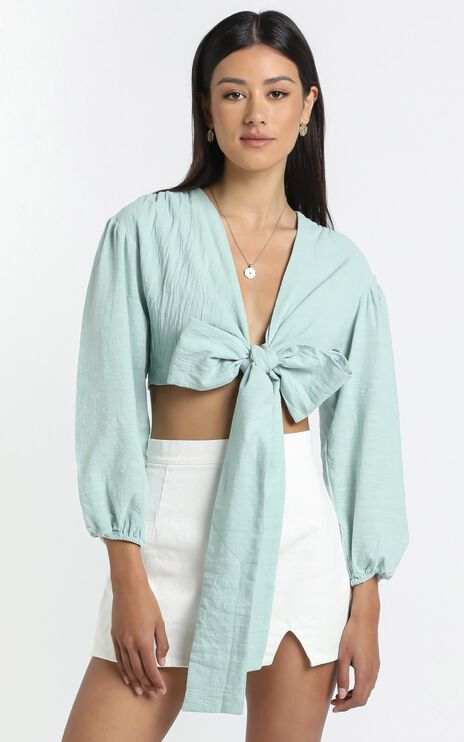 Camilla Top in Sage