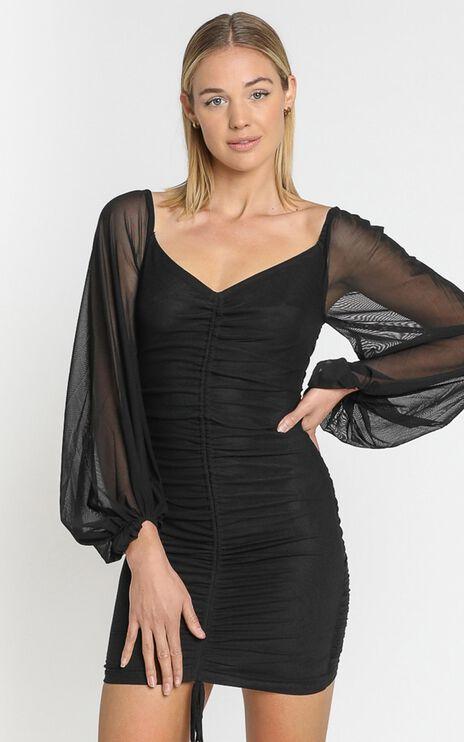 Jamila Dress in Black