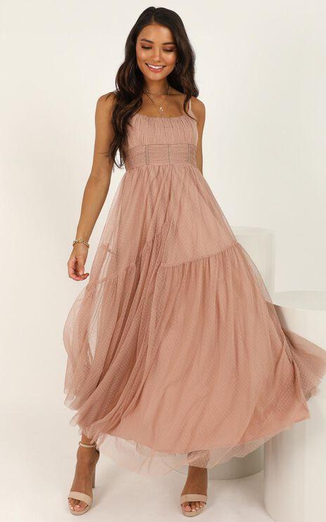 Comfort Me Dress In Mocha