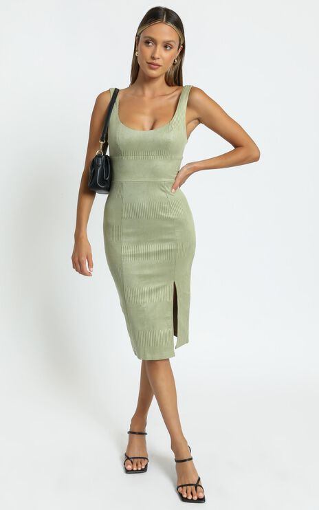 Cardenas Dress in Sage