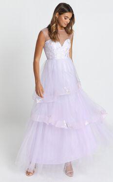 San Jose Maxi Dress In Dusty Lavender