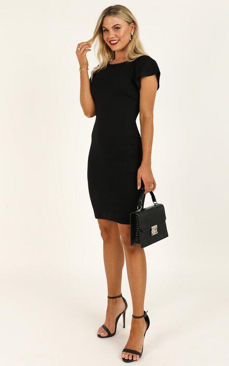Dream Job Dress In Black