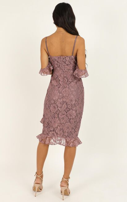 How Could You Forget About Me Dress In Mauve Lace - 20 (XXXXL), Mauve, hi-res image number null