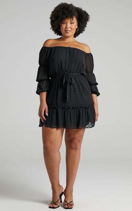 Party Life Dress in Black