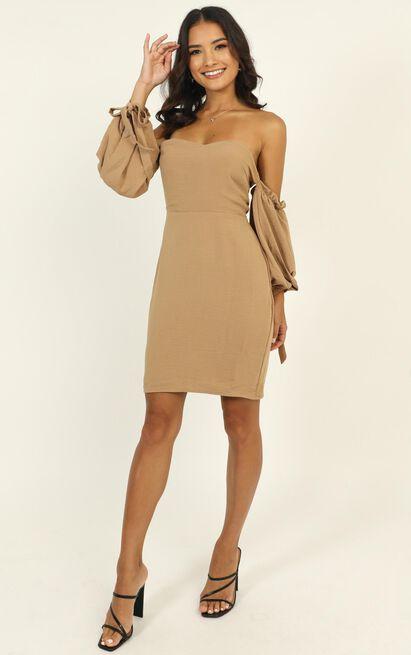 New Chance dress in beige - 12 (L), Beige, hi-res image number null