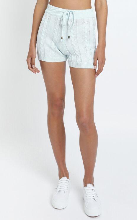 Celinna Knit Shorts in Grey