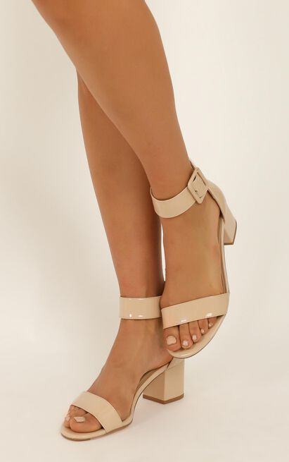 Therapy - Rosee Heels in nude patent - 10, Beige, hi-res image number null
