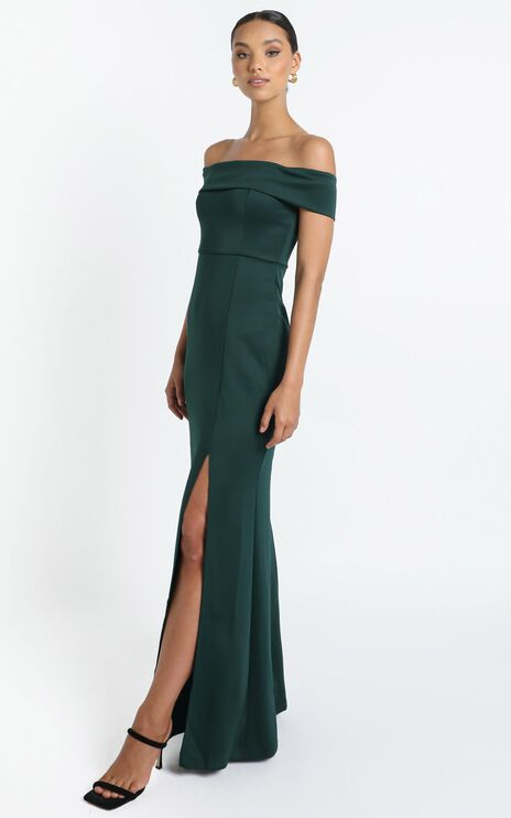 We Got This Feeling Dress In Emerald