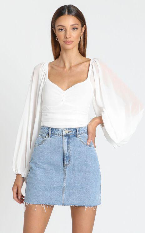 Dermot Bodysuit in White