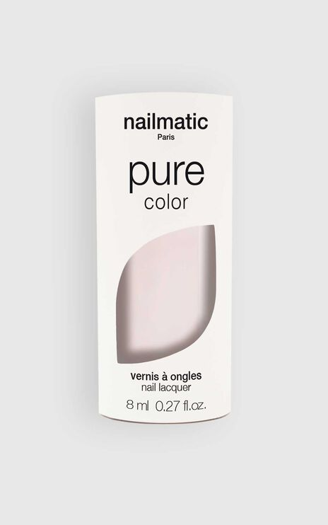 Nailmatic - Pure Color Jeanne Nail Polish in Pink White