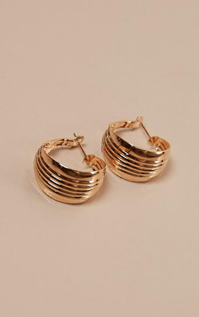 Make It Better Earrings In Gold, , hi-res image number null