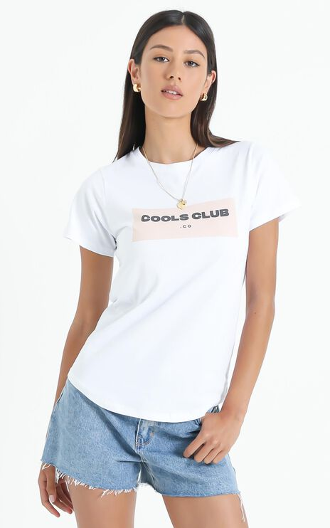 Cools Club - Sunday Tee Box in White