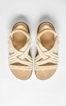 Therapy - Bermuda Sandals In Natural Beige