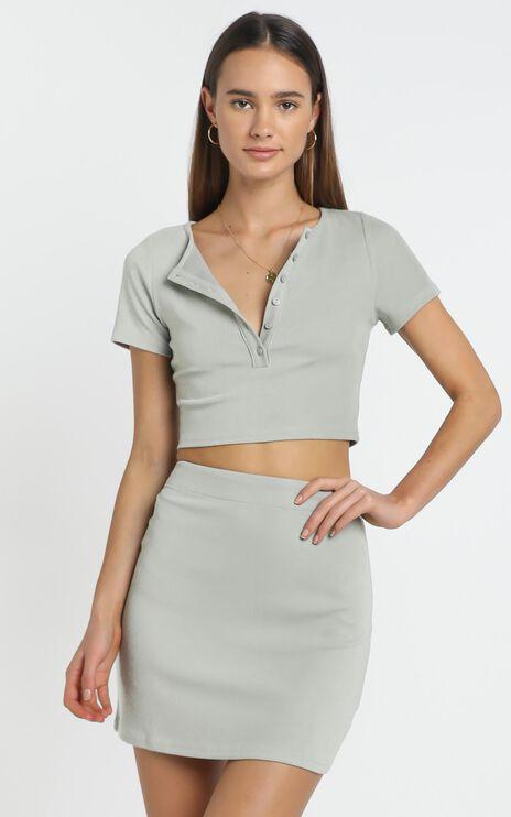 Inez Skirt in Sage