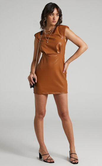 Inkeri Dress in Brown
