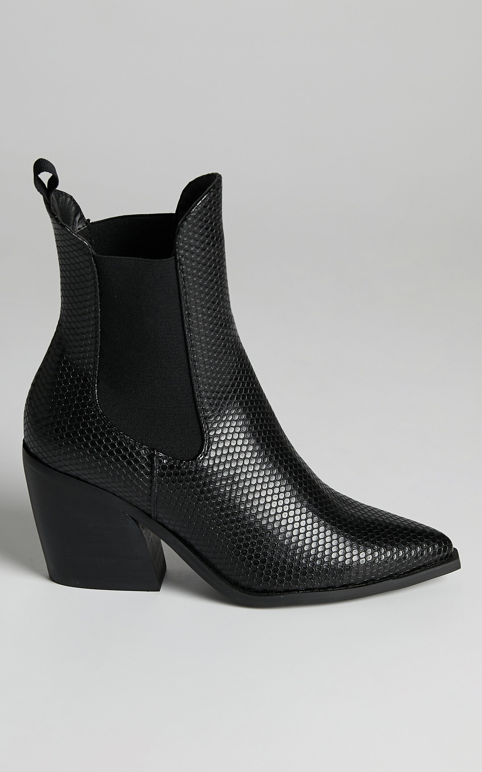 Therapy - Josette Boots in Black Snake - 05, BLK1, super-hi-res image number null
