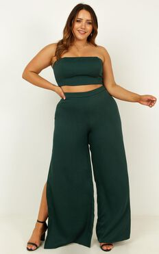 Im The One Two Piece Set In Emerald