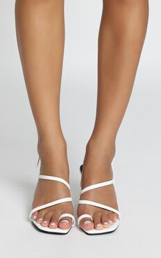 Therapy - Minx Heels In White