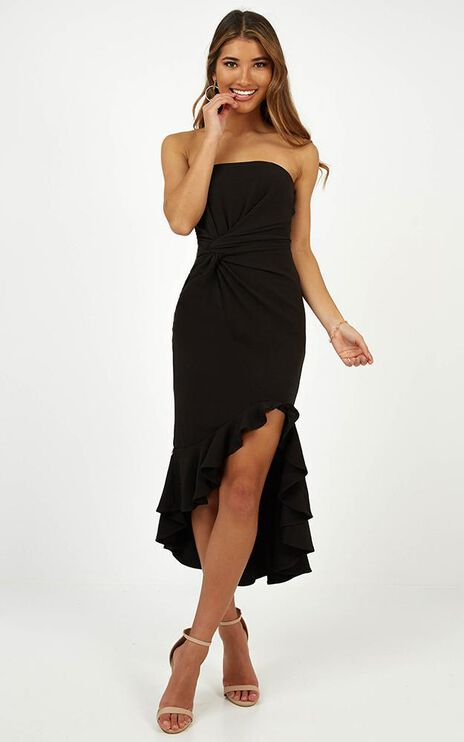 My Intention Dress In Black