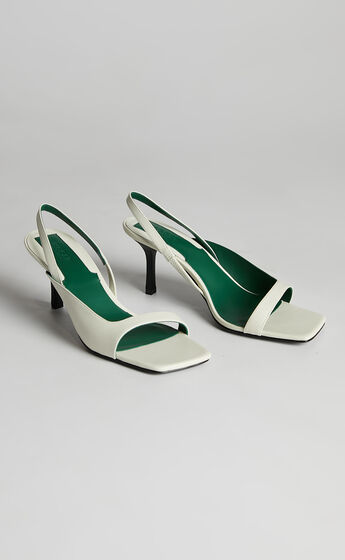 Jaggar The Label - Allure Heel in White