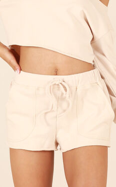 Cloud Nine Shorts In Nude