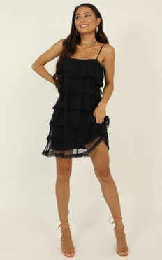 That's Your Type Dress In Black